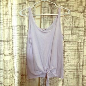 Lavender Sundry Tie Tank